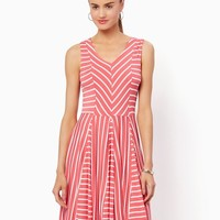 Soft Stripes Jersey Dress| Fashion Apparel and Clothing | charming charlie