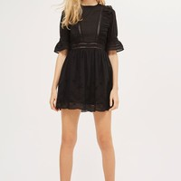 Broderie Ruffle Dress - New In Fashion - New In