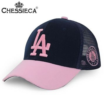 CHESSIECA 2017 New Arrival Fashion LA Dodgers Embroidery Hip Hop Snapback Hats For Men Women Fitted Hat Gorras Casquette