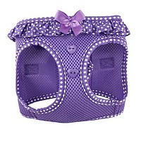 American River Polka Dot Harness — Purple