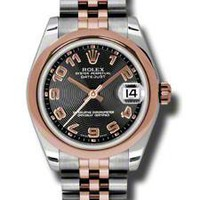 Rolex - Datejust 31mm - Steel and Pink Gold - Domed Bezel