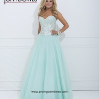 2014 Aqua Blue Prom Dress with Sweetheart Beading and Rhinestons Style TOWB108,Best Prom Dresses