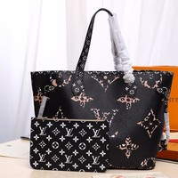 DCCK Lv Louis Vuitton Fashion Women Men Gb2964 M41177 Neverfull Mm 32x 29x 17 Cm