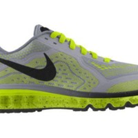 Tagre™ Nike Air Max 2014 iD Custom Men's Running Shoes - Yellow
