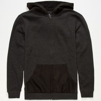 Shouthouse Hit & Run Boys Hoodie Charcoal  In Sizes