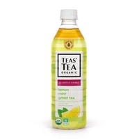 Teas' Tea Organic Lemon Mint Green Tea, 16.9 fl oz (500 mL)