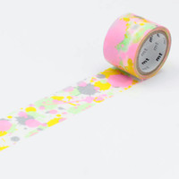 mt fab Screen Printed Washi Tape Single Paint