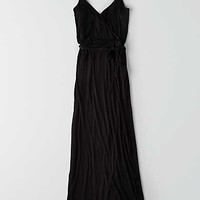 AEO SOFT & SEXY WRAP MAXI DRESS