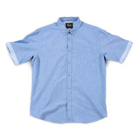Lounge Lifestyle Surf Blue Button Down Shirt