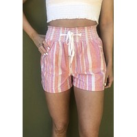 Flamingo Shorts- Pink & Coral