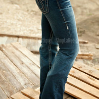 BIG STAR REMY LOW RISE BOOT CUT JEAN LONG