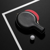 Leather Ping Pong Paddle Case by Aruliden | Generate Design