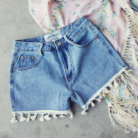Spool Tassel Shorts