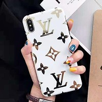 LV Louis Vuitton New fashion monogram print protective case phone case