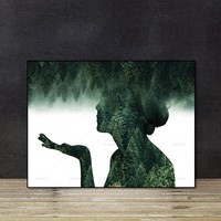 canvas painting Wall art pictures no frame decor poster art prints figure on canvas Wall Picture decoration for living room