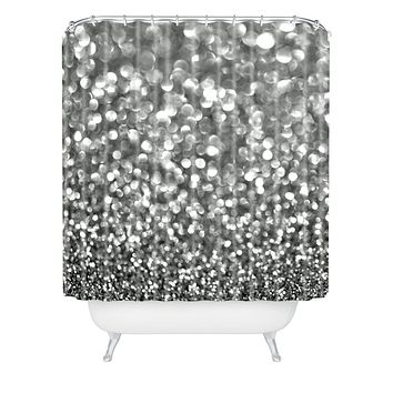Lisa Argyropoulos Steely Grays Shower Curtain