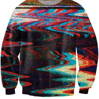 Color Static Sweatshirt