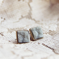 Sweet Druzy Earrings
