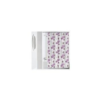 Mainstays Pink Floral Peva Shower Curtain