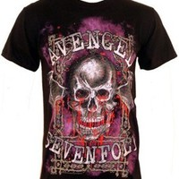 Avenged Sevenfold T-shirt - Bloody Trellis - Offical Band Merch - Buy Online at Grindstore.com