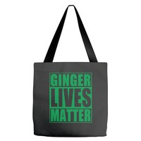 st patrick's day ginger lives matter Tote Bags