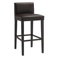 Porter Leather Counter Stool - Chocolate