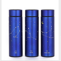 12 Constellation Stainless Steel Double Wall Vacuum Flask Coffee Mug Travel Tumbler Water Bottle Insulated Thermo Cup 400ML
