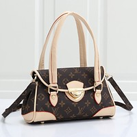 Louis Vuitton LV Fashion Leather Handbag Tote Crossbody