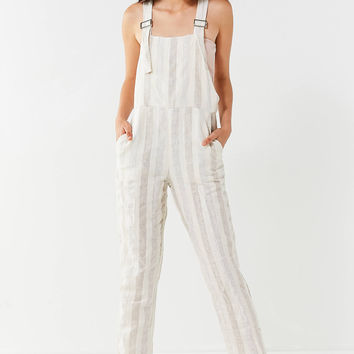 Nice Martin Raven Striped Overall Jumpsuit | Urban Outfitters