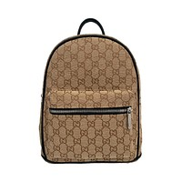 Louis Vuitton LV Dior Men's and Women's Fully Printed Logo Backpack