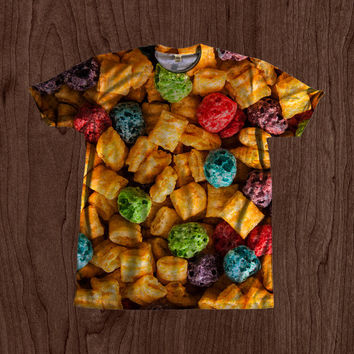 90's Kid Cap'n Crunch Crunchberries Shirt unisex Youth & Adult size tshirts USA Handmade *Fast Shipping*