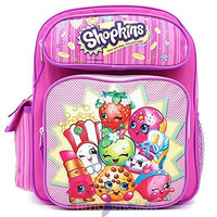 "Shopkins School 12"" inches Small Backpack for Girls Licensed"