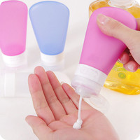 Portable Silicone Travel Bottles Shampoo Shower Gel Lotion Sub-bottling Tube Squeeze Tool #72206