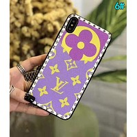 LV Louis Vuitton Newest Hot Sale iPhone Phone Cover Case For iphone 6 6s 6plus 6s-plus 7 7plus iPhone X XR XS XS MAX 6#