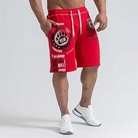 New Shorts Men's Calf-length Summer Fitness Bodybuilding Casual Joggers Workout Brand Sporting Short Pants Sweatpants