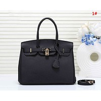 Hermes New fashion handbag shoulder bag women two piece bag