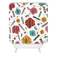 Belle13 Yin Yang Concept Shower Curtain