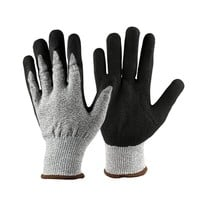 1 Pair of Working Gloves Anti Abrasion Cut Resistant Gardening Gloves Safety Labor Protective Gloves Metal Tactical Gloves