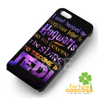 hogwarts to jedi harry potter-yah for iPhone 4/4S/5/5S/5C/6/ 6+,samsung S3/S4/S5,S6 Regular,S6 edge,samsung note 3/4