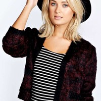 Alea Crop Brushed Knit Cardigan - Essentiels D'hiver - Collections