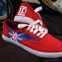 One Direction Sneakers -Black-