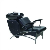Shampoo Station & Shampoo Chair Reclining & Bowl Unit Salon Backwash Station