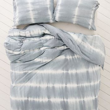 Mesa Soft Dye Jersey Duvet Cover | Urban Outfitters