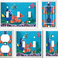 FINDING NEMO/Dory CHILDREN & NURSERY DECOR SWITCH OR OUTLET COVER (OUTLET)