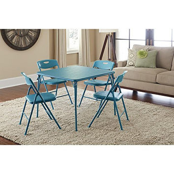 Cosco Vinyl Folding Table with Chairs Set