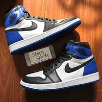 Air Jordan 1 men's and women's high-top sneakers shoes