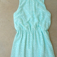 Tucked Lace Dress in Mint : Vintage Inspired Clothing & Affordable Dresses, deloom | Modern. Vintage. Crafted.