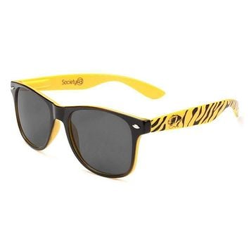 Missouri Tigers Throwback Sunglasses in Black and Yellow by Society43