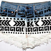 The Arya Aztec Shorts