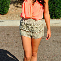 BRINGING SEXY BACK NEON LACE ROMPER